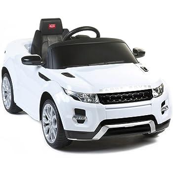 Auto Macchina Elettrica Per Bambini Land Rover Discovery 12V Luci Suoni MP3