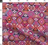 Kelim, Türkisch, Teppich, Indigen, Modern Stoffe -