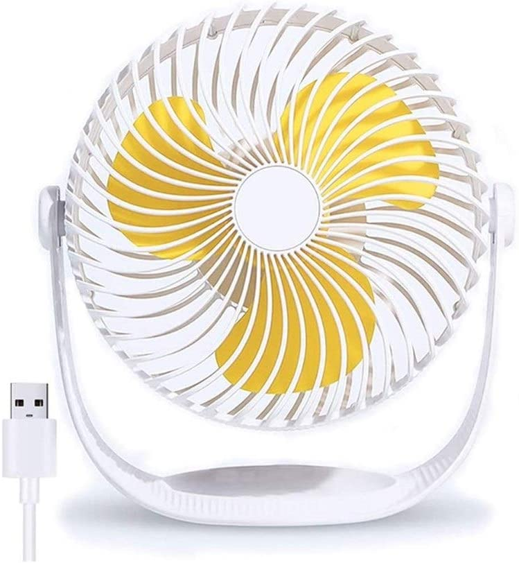WANG XIN Personal Portable Fan USB 8 OFFicial site Q Chicago Mall Desk inch Ultra Small