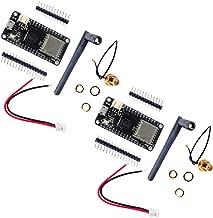 Stemedu 2 Sets LoRa32u4ii Lora Development Board Module, JST-PH2.0mm-2P Connector, IPEX Antenna, ATmega32u4 SX1276 HPD13A 915MHz 868MHz, for Arduino UNO Mega 2560 Nano
