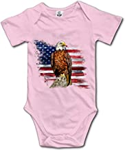 Qilrocm Brush Stroke X Baby Rompers Short Sleeve Infant Cotton Bodysuits One-Pieces