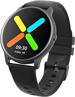 YAMAY Smart Watch 2020 Ver. IP68 Waterproof Customized Watch Faces, Watches for Men Women Fitness...