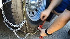 TireChain.com Compatible with Mazda 3 i Touring 2012-2013 P205//55R16 Diamond Tire Chains