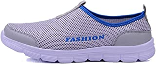 WWY Men Women's Water Shoes, Outdoor Breathable Beach Shoes, Lightweight Breathable Flexible, Quick-drying Wading Shoes Sport Water Camping Sneakers Shoes (Color : Gray, Size : 36)