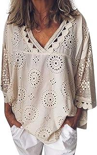 53c3cec443800 Amazon.fr : tunique grande taille - Chemisiers et blouses / T-shirts ...