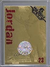 Michael Jordan #1056/2,325 (Basketball Card) 1999-00 23KT Gold Card Fleer Reprints - 1997-98 Skybox Z-Force #MIJO