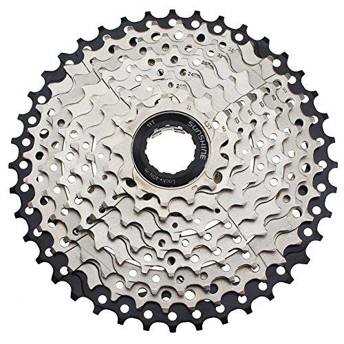 FOMTOR 9 Fach Kassette MTB 9-Fach Kassette 11-40 für Mountainbike, MTB, BMX, Sram Sunrace Shimano Ultegra XT