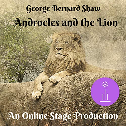 Androcles and the Lion audiobook cover art