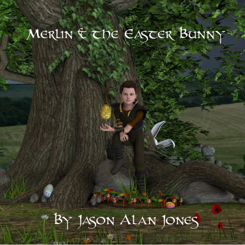 Merlin & the Easter Bunny cover art