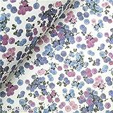 Tassotti - Carta tavoletta con motivi piccoli fiori tono di viola - 85 gr/m2