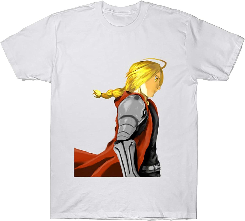 Anime Fullmetal Arlington Mall Ultra-Cheap Deals Alchemist EdwardElric T-Shirt Hoodie Top Tank