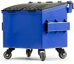Dumpsty Steel Desktop Dumpster in Blue