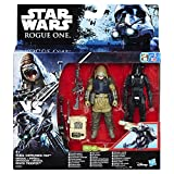 Star Wars Rogue One Death Trooper impérial et Rebel Commando Pao Deluxe Figure avec Storm Trooper Armour Mettant (2-figure)