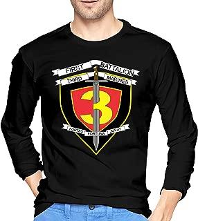 1st Battalion 3rd Marines Men's Long Sleeve T-Shirts