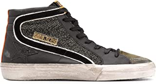 Golden Goose Luxury Fashion Uomo GMF00116F00037890183 Nero Pelle Hi Top Sneakers | Autunno-Inverno 20