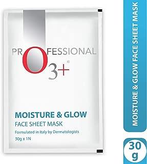 O3+ Moisture & Glow Face Sheet Mask for Brightening & Moisturizing Action (1 Pc, 30g)