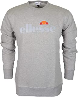ellesse Pizzoli Crew Neck Grey Sweatshirt