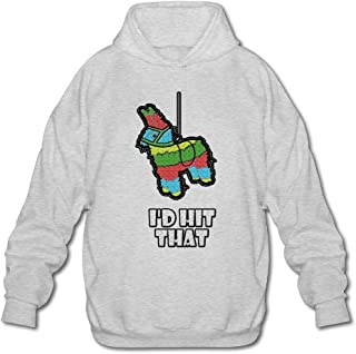 MPIQW Adult I'd Hit That Pinata Hoodie Workout Pullover Sweatshirt