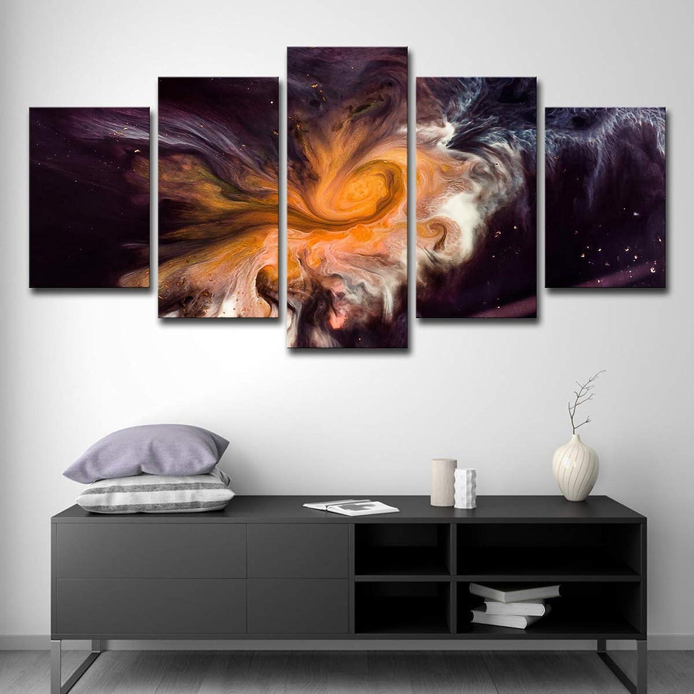 5 Digest Nebula Cloud Home Decoration Landscape Picture Living Living Living Room Wall Art B07MNM2N91 28a3ac