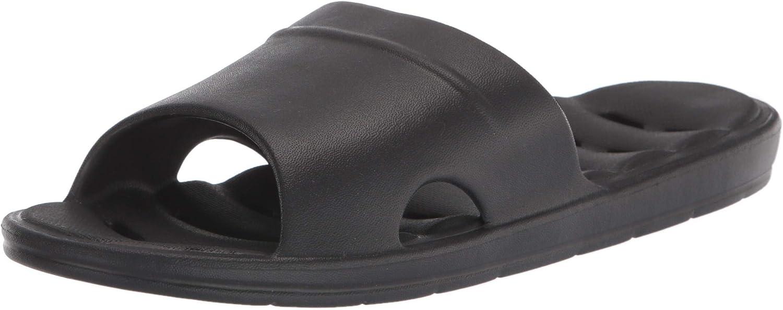 LUFFYMOMO Womens Shower Slippers Bathroom Anti-Slip Eva Indoor House Sandals