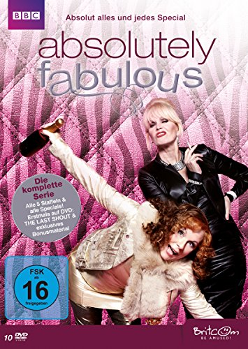 Absolutely Fabulous - Die komplette Serie: Absolut alles und jedes Special  [10 DVDs]