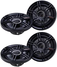$43 » Crunch 300 Watts 6.5-Inch 3-Way 4 Ohms CS Speakers, Black (2 Pack) | CS-653