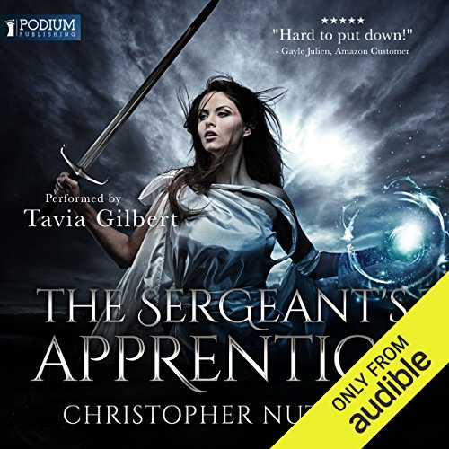 The Sergeant's Apprentice audiobook cover art