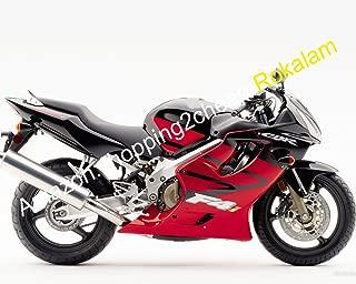 For Fairing CBR600 2004 2005 2006 2007 CBR 600 04 05 06 07 F4i Red Black Moto Fairing (Injection molding)