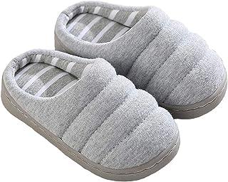 INMINPIN Inverno Pantofole da Casa Bambini Caldo Antiscivolo Pantofola da Invernali Ragazze Ragazzi Comode Ciabatt di Cotone