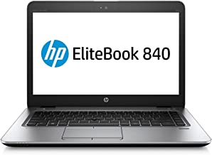 HP EliteBook 840 G3 (14 pulgadas) Notebook PC Core i5 (6300U) 2.4GHz 8GB 256GB SSD WLAN BT Webcam Windows 7 Pro 64-bit (HD Graphics 520)