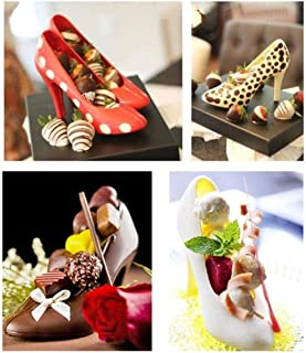 3D High Heels Shoe Shape Chocoalte Candy Mold Baking Pastry Mould Cake Decoration Confectionary Polycarbonate Chocolate Mo...
