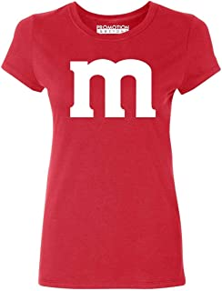 Promotion & Beyond M Halloween Team Costume Funny Party Women's T-Shirt