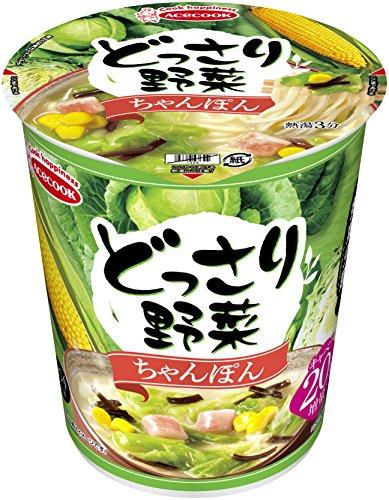 エースコック『どっさり野菜(ちゃんぽん)』