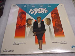 Laser Disc, Laserdisc of A SHOW OF FORCE with Amy Irving, Andy Garcia, Luo Diamond Phillips and Robert Duvall.