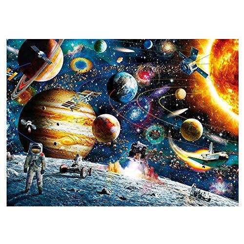 MRCOOL Puzzle 1000 Pezzi Pianeta Universo Puzzle per Adulti Ragazzi Ragazzi (Pianeta Universo)