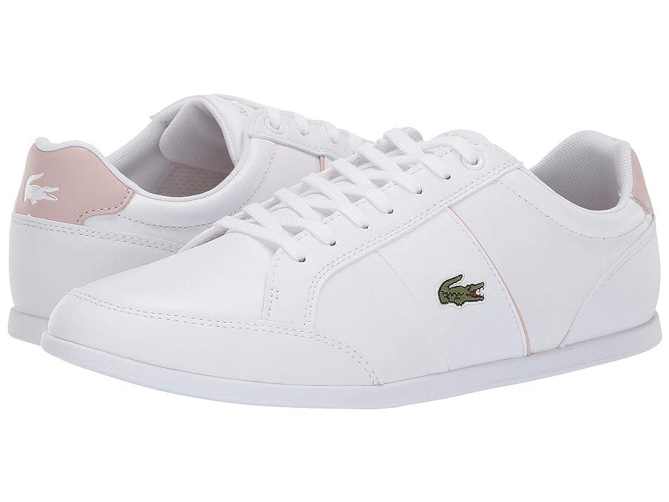 Lacoste Seforra 119 1 P CFA (White/Light Pink) Women