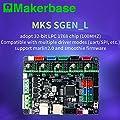3D printer board MKS SGen_L 32-bit controller compatible with Marlin2.0 and smoothie firmware.Support multiple types of drives (MKS SGEN-L)