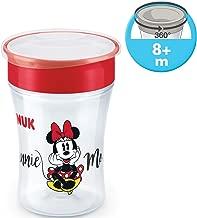 6+ meses 3 unidades BPA-libre Tiger//azul Magic Cup Trinklernbecher Space Schnuller /& Schnullerkette NUK 10255437 Magic Cup /& Set
