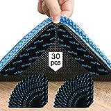 30 Pz Tappeto Gripper Anti-Slip Mat, riutilizzabile e lavabile Anti-Slip Rug Tape per pavimenti in legno, adesivi per tappeti per tutti i tipi e dimensioni di tappeti per mantenere il vostro tappeto
