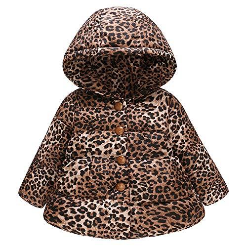 Alikey windjack met capuchon, van katoen, warm, lange mouwen, bedrukt, luipaard, kinderen, herfst, winter, jas, baby, jongens, jassen, kerstcadeau