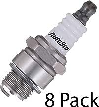 Autolite (8 Pack Genuine Small Engine Copper Core Spark Plugs # 255-8PK
