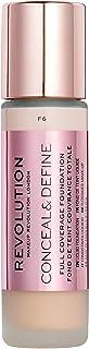 Makeup Revolution Conceal & Define Foundation F6