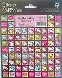 Hello Kitty - Pequeñas pegatinas cuadradas