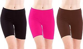 Rooliums Women'S Black Shorts(Rooliumsshorts-P3-101_Black_Free Size)