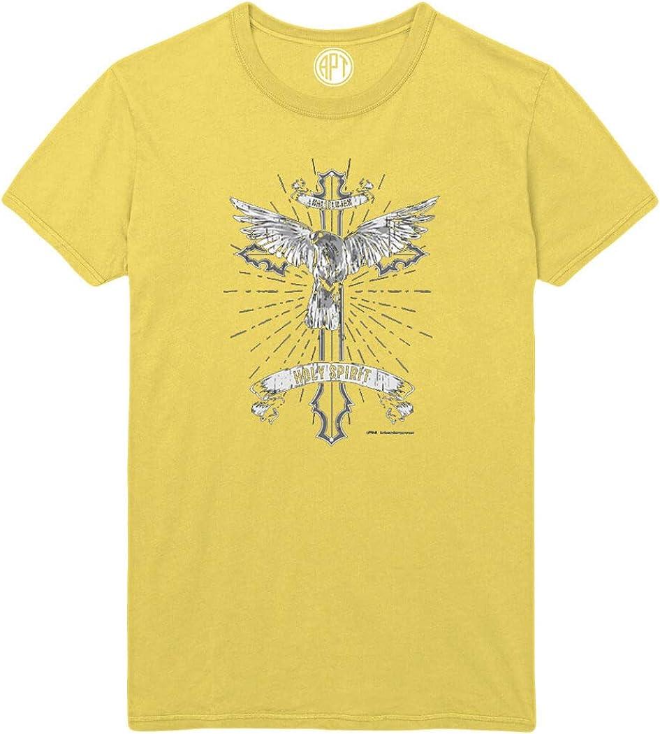 Dove Cross Hallelujah Holy Spirit Printed T-Shirt
