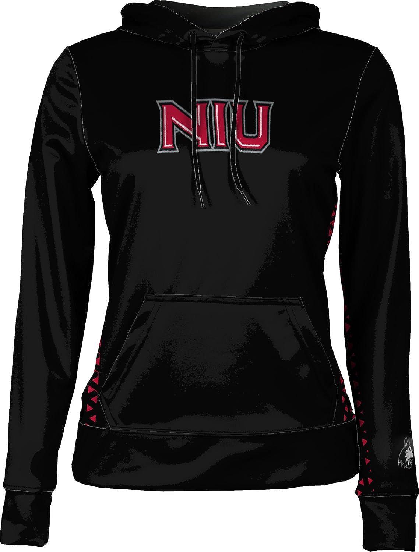 ProSphere Northern Illinois University Girls' Pullover Hoodie, School Spirit Sweatshirt (Geo)
