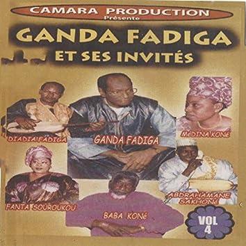 Ganda Fadiga et ses invités, vol. 4 (Live)