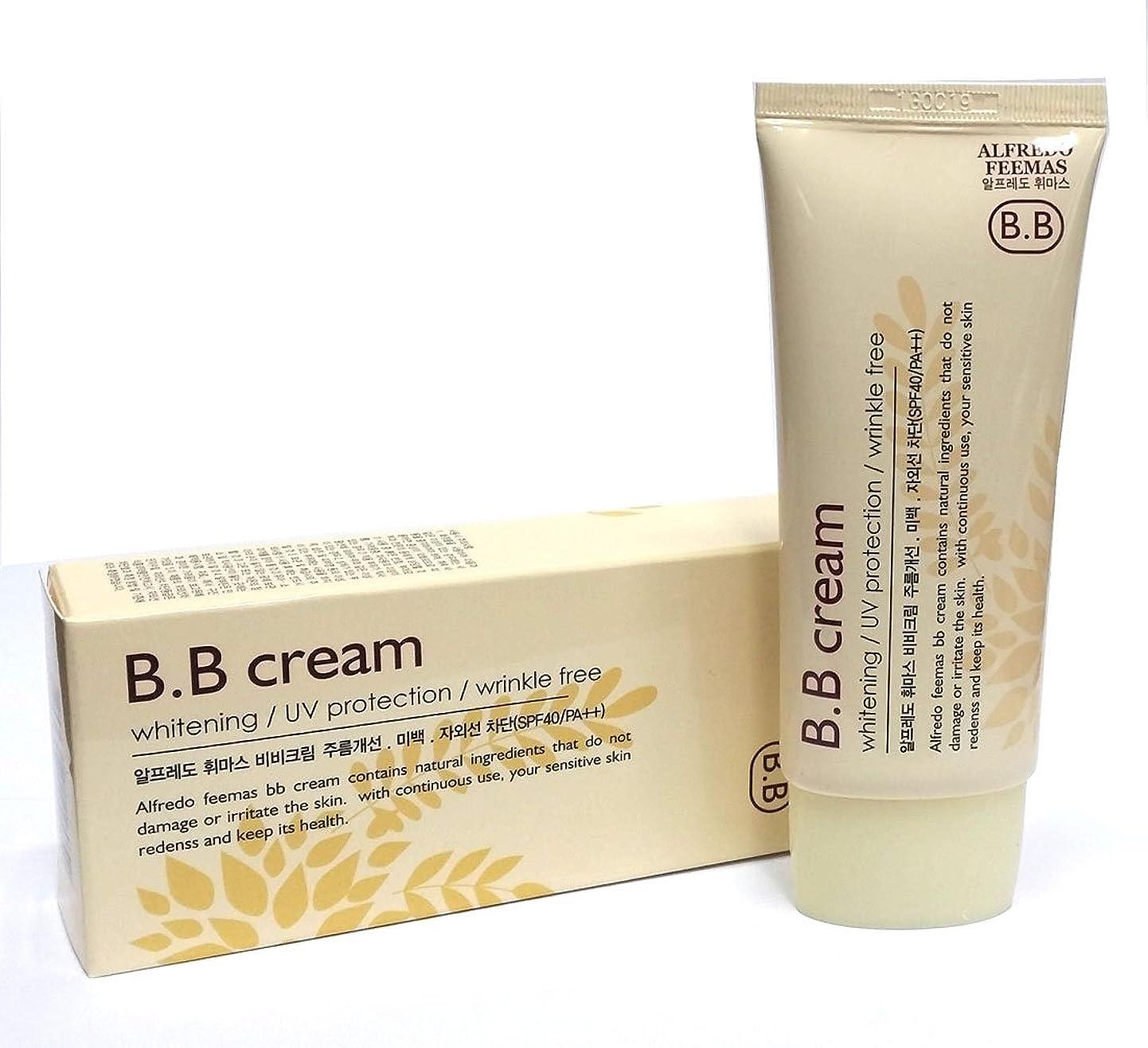 中絶サイズアノイアルフレッドフェイマスBBクリーム50ml X 1ea / Alfredo feemas BB cream 50ml X 1ea / ホワイトニング、しわ、UVプロテクション(SPF40 PA ++)/ Whitening,Wrinkle free,UV protection (SPF40 PA++) / 韓国化粧品 / Korean Cosmetics [並行輸入品]