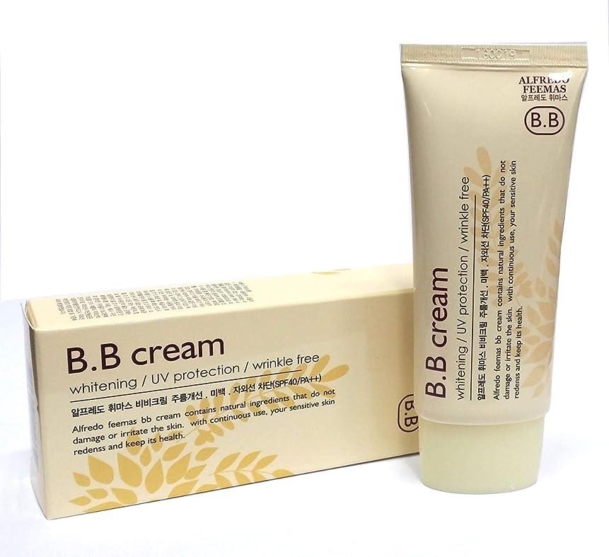 スロープ買い手雄大なアルフレッドフェイマスBBクリーム50ml X 1ea / Alfredo feemas BB cream 50ml X 1ea / ホワイトニング、しわ、UVプロテクション(SPF40 PA ++)/ Whitening,Wrinkle free,UV protection (SPF40 PA++) / 韓国化粧品 / Korean Cosmetics [並行輸入品]