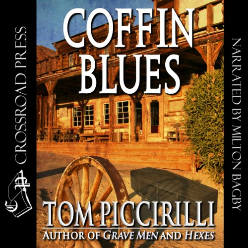 Coffin Blues audiobook cover art